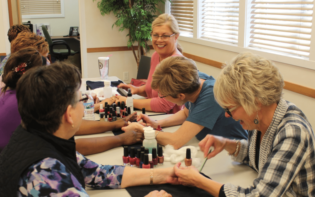 Neighborhood Women Pampered at Ladies Lunch